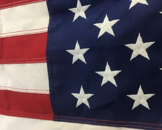 Steadfast Heavy Duty Poly American Flag