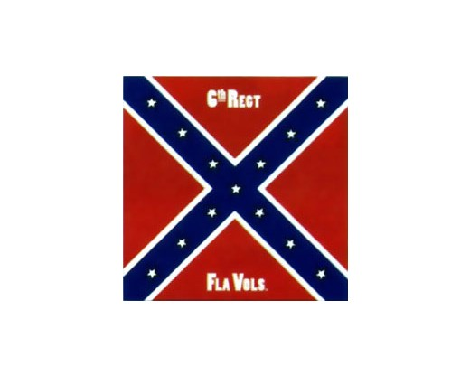 6th Florida Infantry Regiment Flag - 4x4'
