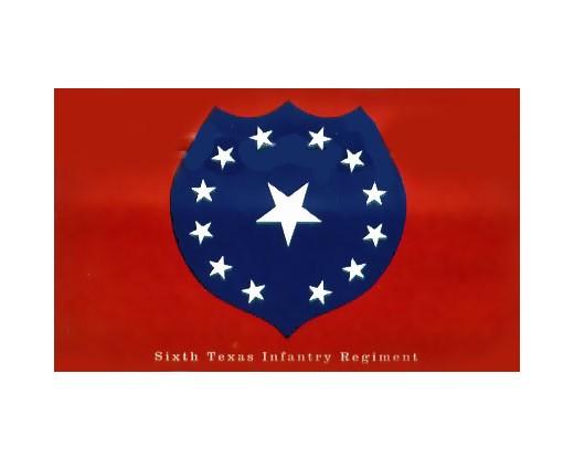 6th TX Infantry Flag - 3x5'