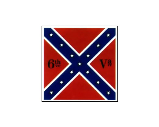 6th Virginia Infantry Regiment Flag - 4x4'