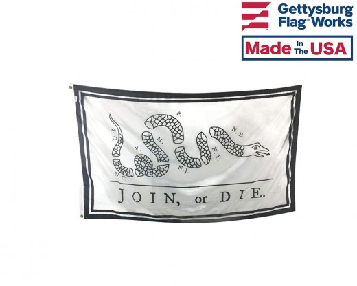 join or die flag front