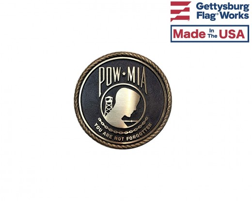POW MIA Memorial Medallion