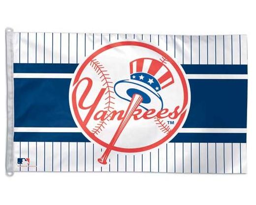 Yankees Circular Logo Flag
