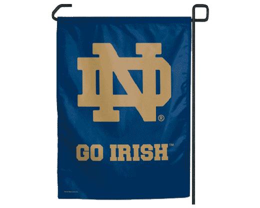 Notre Dame Garden Flag