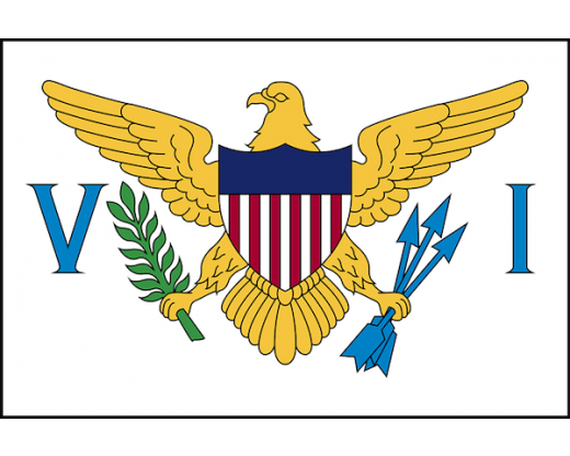 US Virgin Islands Flag - Outdoor