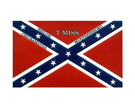 7th MISS Infantry Flag - 3x5'