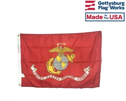 Marine Corps Flag Made in USA