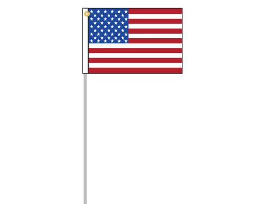 "American Motorcycle Flag Set - 8x12"""