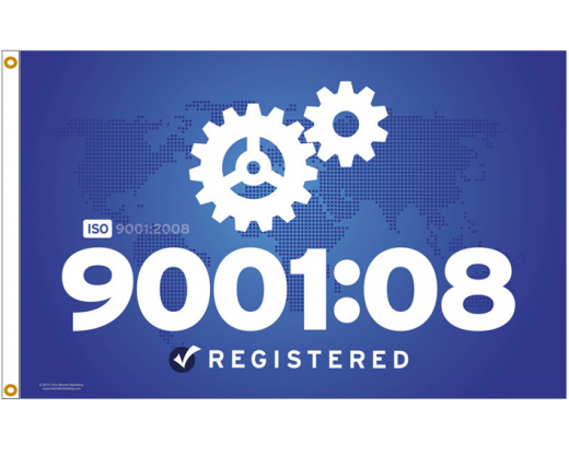 ISO 9001:2008 Flag