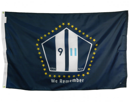 9/11 We Remember Flag