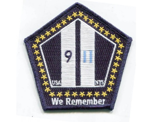 "9/11 ""We Remember"" Patch"