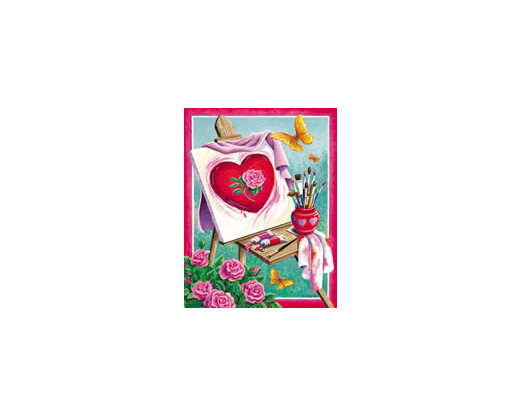 Easel Roses House Banner