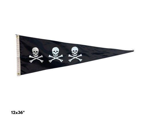 CHRIS CONDENT TRIANGLE PENNANT