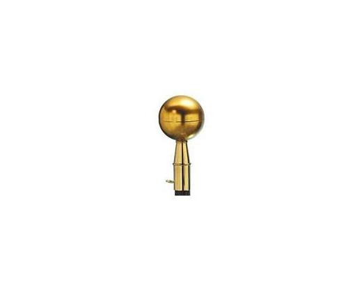 """Ball, 3"""" Gold"""