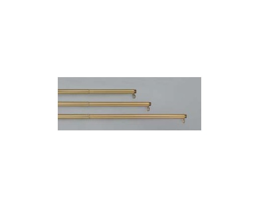 6-10' Adjustable Gold Aluminum Pole