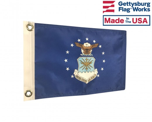 Air Force Boat Flag-8x12""