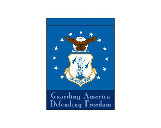 Air National Guard Garden Flag