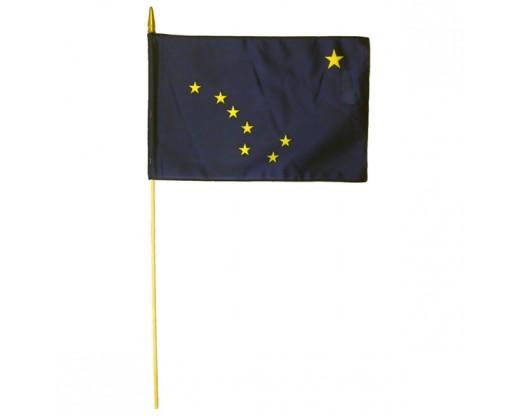 Alaska State Stick Flag