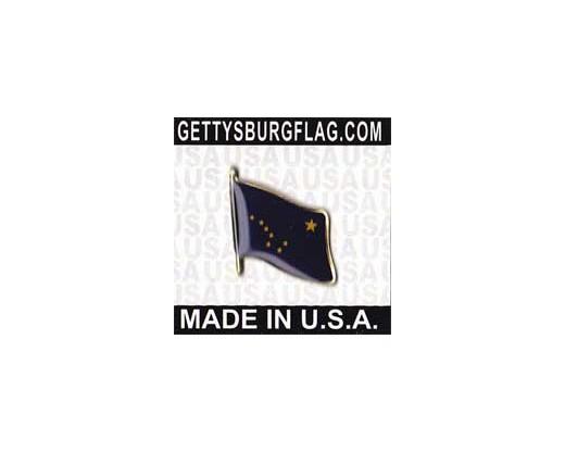 Alaska State Flag Lapel Pin