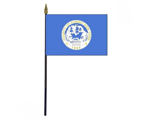 County of Albany Stick Flag (New York, USA)