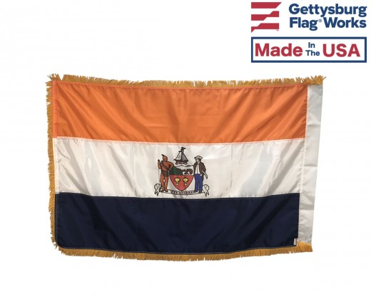 City Of Albany Flag Indoor