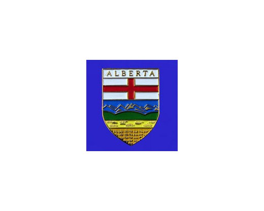 Alberta Lapel Pin (Shield)