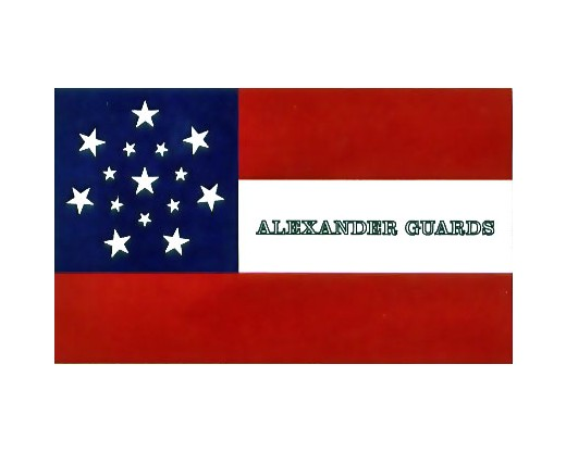 Alexander Guards Flag - 3x5'