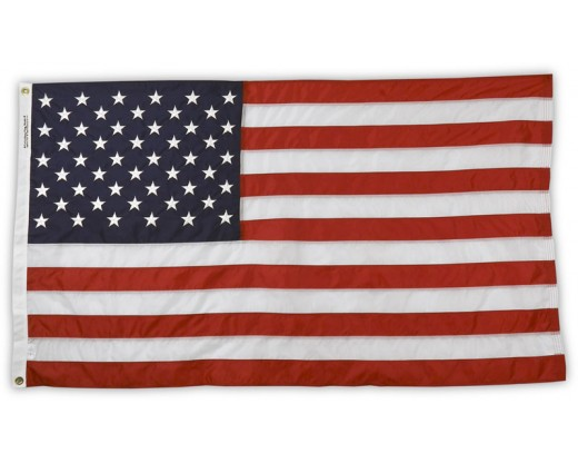 All-Weather Nylon American Flag with grommets