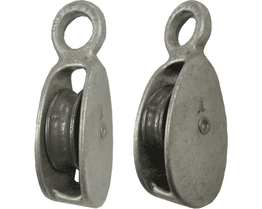 Aluminum Pulley side