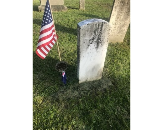 revolutionary war grave marker