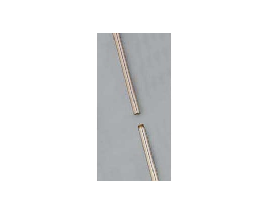 8' Silver Marching Pole, 1 1/8""