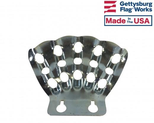 Bracket 5 Finger Stamped Steel