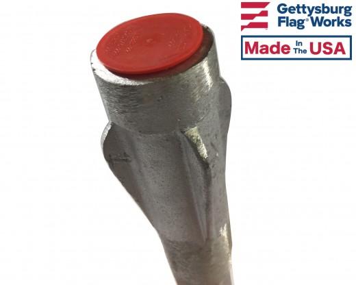 Cast Aluminum Lawn Socket top