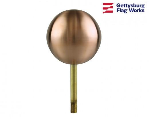 Copper Ball Ornament