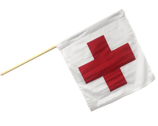 Motorcycle Racing Ambulance Flag