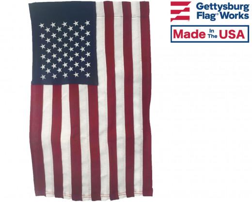 Sewn American Garden Flag