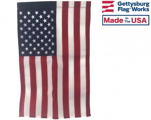 Printed American Garden Flag