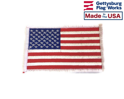 AMERICAN FLAG PATCH, 2X3
