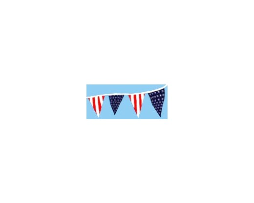 Americana Triangle Pennants