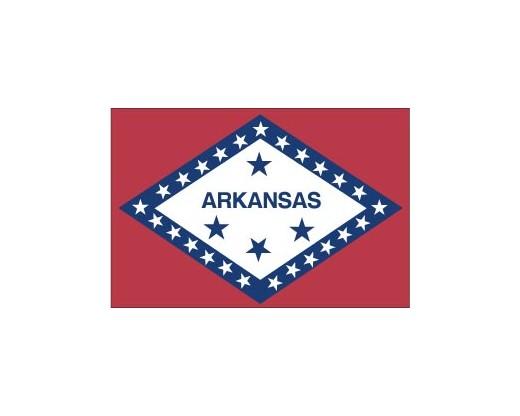 Arkansas Reflective Sticker