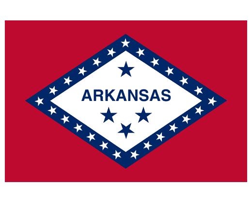 Arkansas Flag - Outdoor