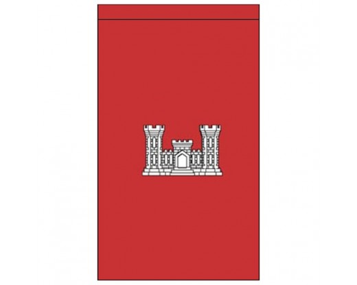 2x3' Army Engineer Banner