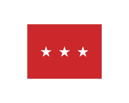 Army Lieutenant General Flag (3 Stars) - 3x5'
