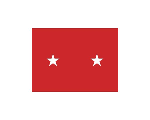Army Major General Flag (2 Stars)