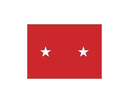 Army Major General Flag (2 Stars)