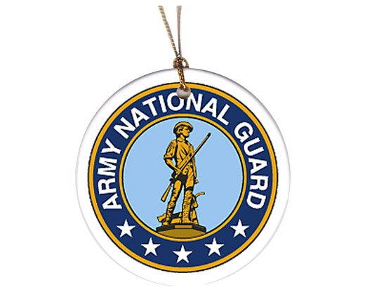 Christmas Ornament Army National Guard