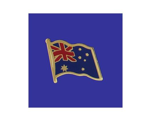 Australia Lapel Pin (Single Waving Flag)