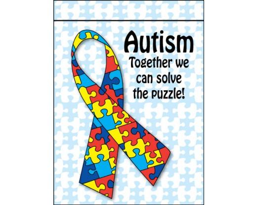 Autism Solve The Puzzle Garden Flag