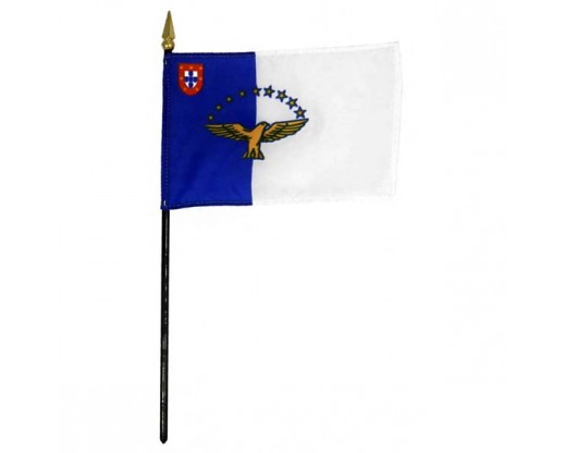 "Azores Stick Flag - 4x6"""