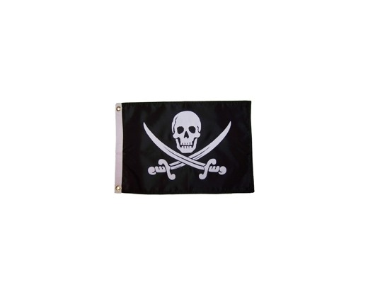John Rackham Pirate Flag - 12x18""